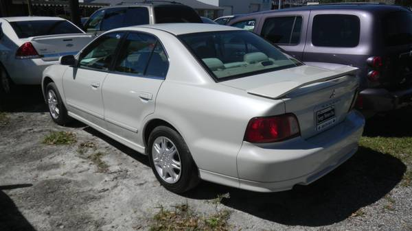 2003 MITSUBISHI GALANT WHITE FINANCE TODAY (HOUMA, LA)