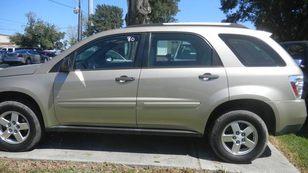 GOLD 08 CHEVY EQUINOX 4 DR. WE FINANCE