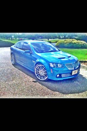 MUST SEE AND READ Fully Loaded Stryker Blue Metallic 09 Pontiac G8 - $20000 (Houma, La)