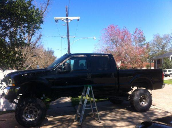 2004 f250 4x4 lifted - $12500 (kenner)