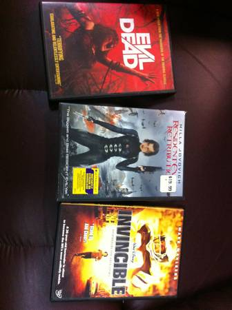3 awesome dvds -  10  cutoff