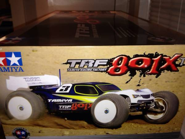 RC Truggy Brand NEW in Box Tamiya TRF 801XT -   x0024 350  Thibodaux