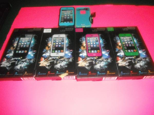 New Waterproof Cases Charger Iphone 4 5  -   x0024 5  Dulac Houma