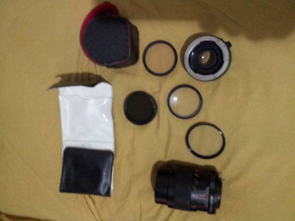 2 wide angle camera lens with filters -  100