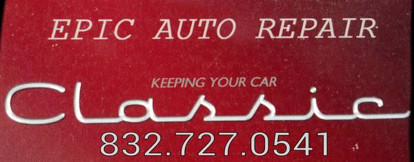 Epic Auto Repair (north, South, East, West Houston)
