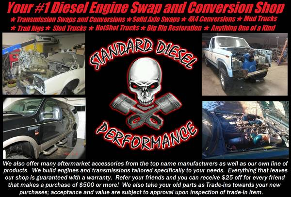 Diesel Conversions NOW LOCATED IN HOUSTON (HOUSTON TEXAS)