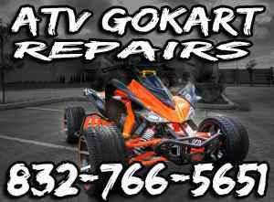 Honest and Affordable ATV.Go Kart Repair (Humble)