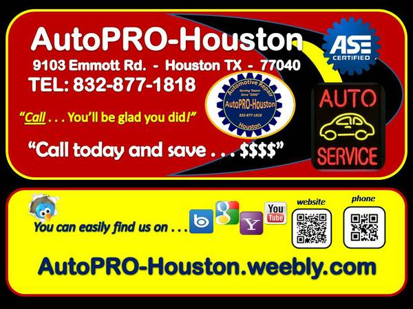 9644 Print and Bring this post with you for 9644 FREE OIL CHANGE (nw houston)
