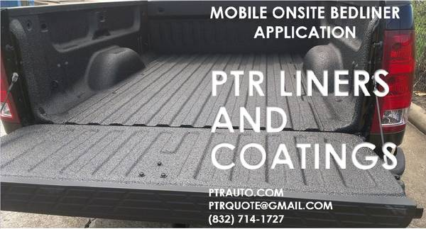 Truck Spray in Bed Liner on Your Time (Houston)