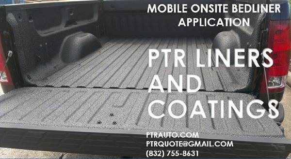 Bedliner for all your projects (Houston TX)