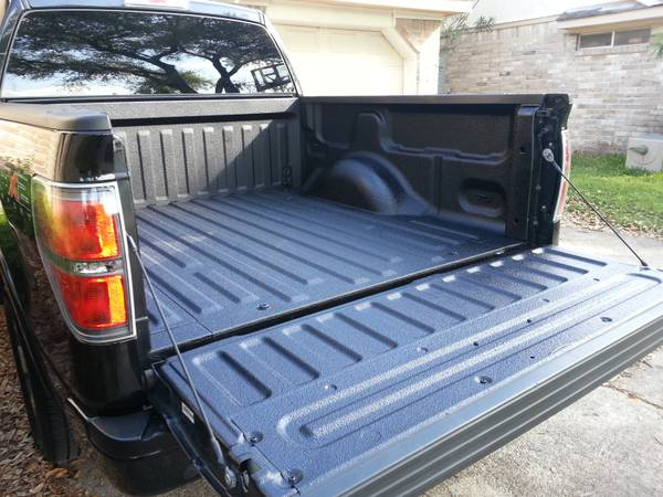 Get a Spray on Bed Liner while you watch TV from home (Houston)