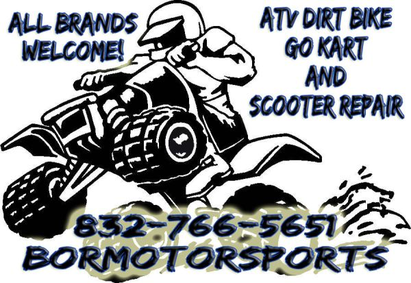 ATV repair Go Kart Repair Dirt Bike Repair (All Brands Welcome) (Beltway 8 Lee Rd)