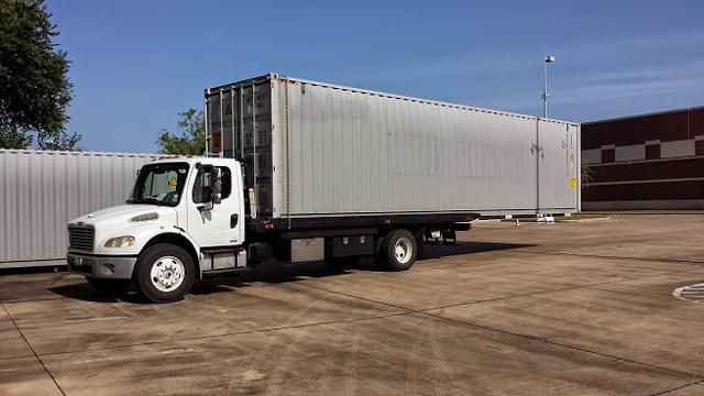 7135542111 Container Mover Specialized  Flatbed Towing Tool Box Motorcycle Forklift fast Houston