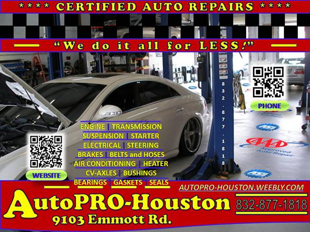 CityWide Auto Repairs by AutoPRO-Houston Call Today, get Service Today