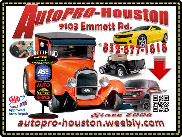 Electrical Diagnostics and Engine Repair - Maintenance AutoPRO-Houston Harris County TX 77040