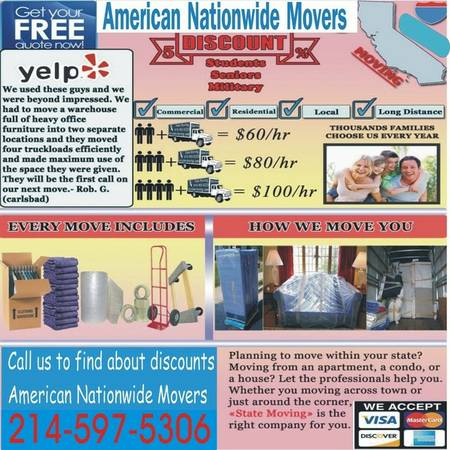 9733ALWAYS POLITE AND FRIENDLY MOVERS9679GET YOUR MOVE DONE RIGHT