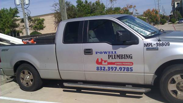 Need a MASTER PLUMBER Call POWELL PLUMBING....Residential Comm (Harris, Brazoria, Galveston Counties)