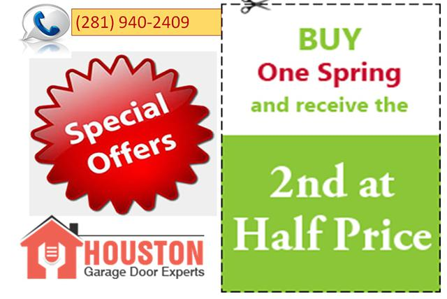 Buy One Garage Door Spring And Get 50 Off on Second Spring In Alvin  Houston