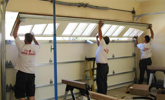 Lic. Contractor- Garage Door Repair Springs $145 for 2 Car Garage Door