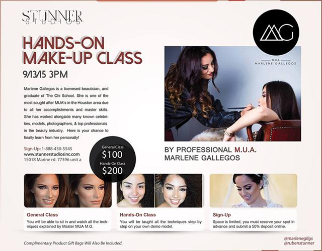 Hands-On MUA Class Tutorial by Marlene Gallegos 91315