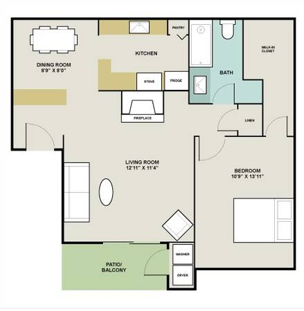 $650 1br - 733ftsup2 - Awesome apartment right by the water (League City)