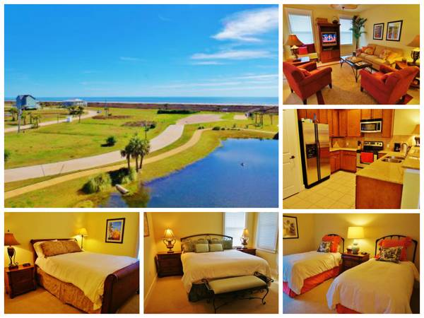 3br - Incredible Condo wBeach Bay views available LABOR DAY WEEKEND (Pointe West Resort Galveston)