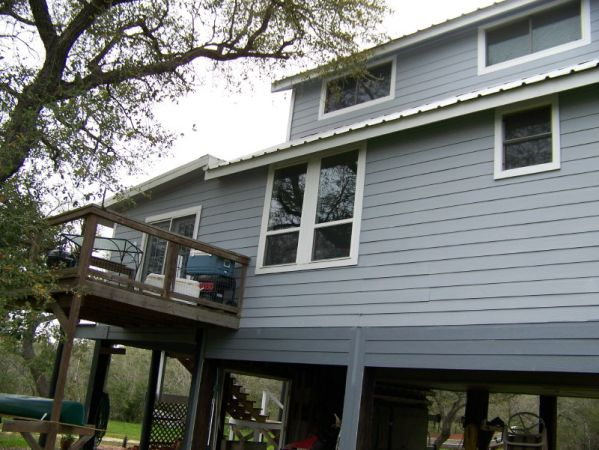 $375 1200ftsup2 - Private and rural waterfront on Trinity Bay (621 fisherman road,Smith Point,Tx.)