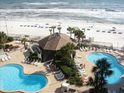 Oceanfront Condo, 2 BR, Gorgeous view, step onto the beach (Panama City Beach FL)