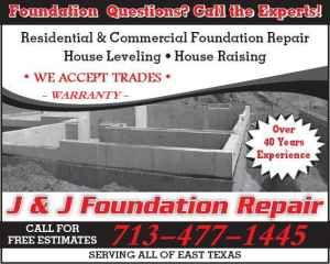HOUSE LEVELING - WARRANTY - References - 713-477-1445