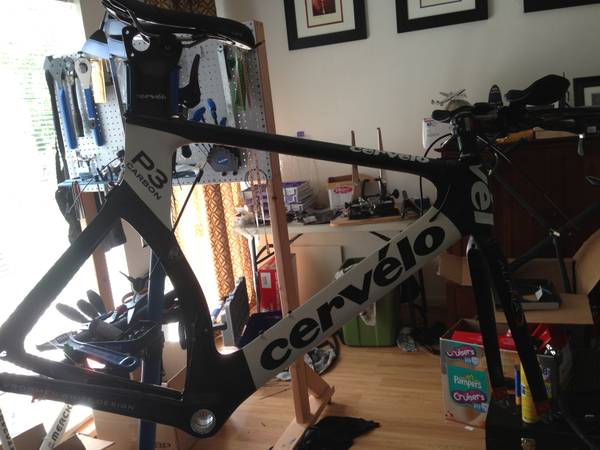 Cervelo P3 Carbon FRAME ONLY - $1150 (clear lake)