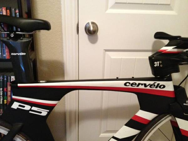 2013 Cervelo P5-6 Red - $6000 (The Woodlands, Tx)