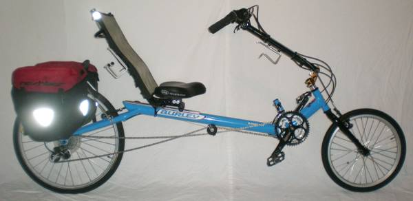 BURLEY Koosah Long Wheel Base Recumbent Bicycle 24 Speed RIGID Bike - $600 (Downtown Houston)