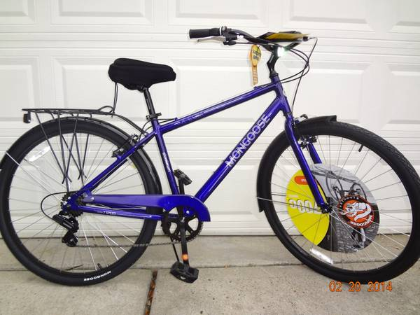brand new mongoose 29er commutercruiser - x0024125 (cypress)