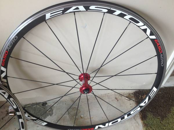 EASTON Road wheels EA50 Aeros - $250 (Spring)