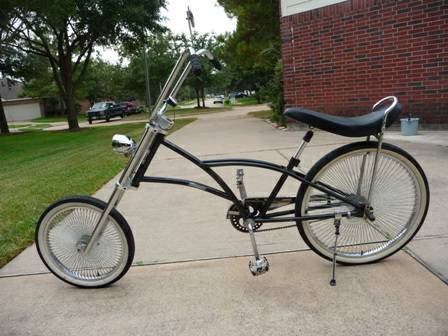 Beach Cruiser (Chopper HugRider) - $350 (Katy West Houston)