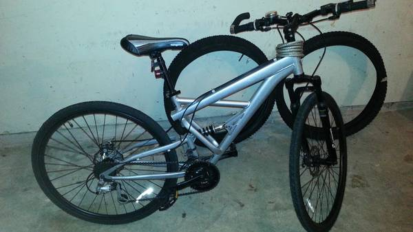 Mens 29 Mountain Bike (full suspension) - $250 (Baytown)