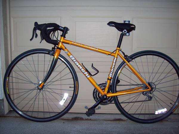 Bianchi Eros Donna road bicycle - $650 (Richmond, Fortbend area)