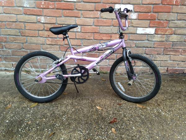 20 Girls Mongoose Freestyle Girl BMX Bike - x002450 (Spring)