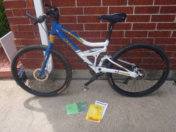 Cannondale Jekyll Full Dual Suspension WSD Mountain Bike DISC BRAKES - $600 (Pearland)
