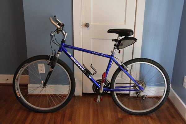 Schwinn Frontier 21 Speed Mountain Bike with Front Suspension - $100 (Heights)