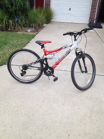 XR75 Mongoose 21 speed mountain bike - $75 (West Houston)