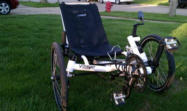 Catrike Villager recumbent trike - $1500 (N.W. Houston 2901960)