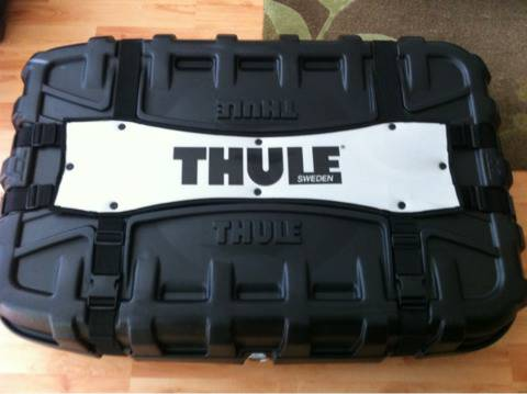 Thule bicycle traveling case for rent - $15 (Stafford)