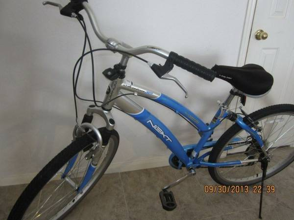 NEXT Avalon CS 26 Womens Cruiser Bike - Like New - $150 (Katy, TX)