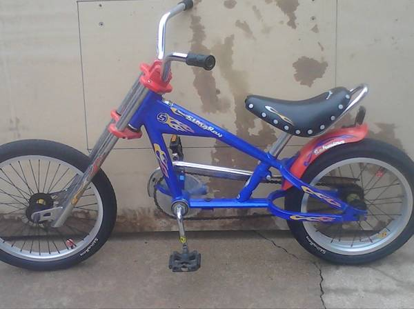 SCHWINN STINGRAY CHOPPER BIKE - $1 (KATY)