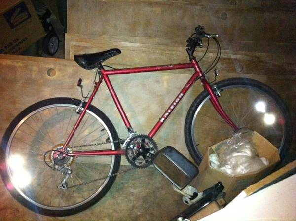 mens 21 raleigh m30 rigid mountain bike - $100 (9315 Bellaire (Golden Bank))