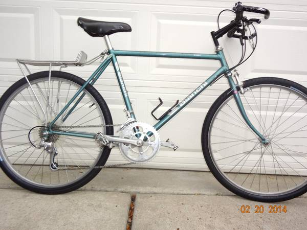 MID 80S BIANCHI GRIZZLY COMMUTER BIKE - x0024200 (290NWMASON RD.)