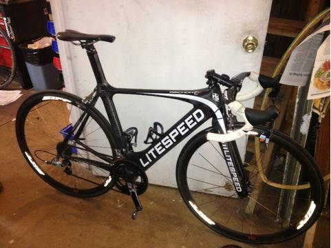 Litespeed c1r with zipp wheels - $3500 (New waverly, tx)