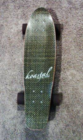 RARE KOASTAL LONGBOARD 27 (NICKEL) CRUISER - $85 (Hollister RdFM 1960 (NORTHWWEST))