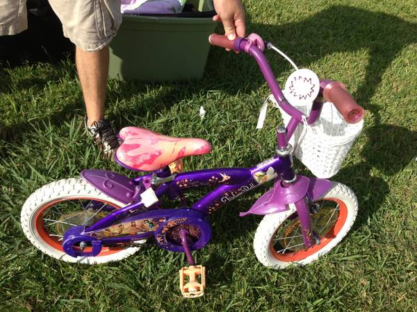 Tinkerbell bike 14 inches - $25 (Spring )